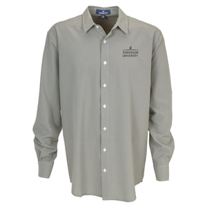 Vantage Men's Sandhill Dress Shirt, Grey White