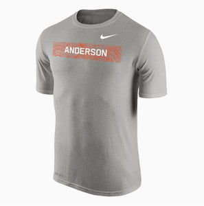 Nike Men's Dri-Fit SS Tee, Dark Heather