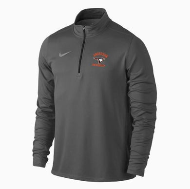 Nike Men's Solid Element 1/4 Zip, Anthracite