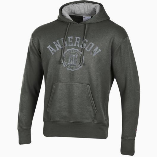 Champion Men's Rochester Fleece Hood, Grey