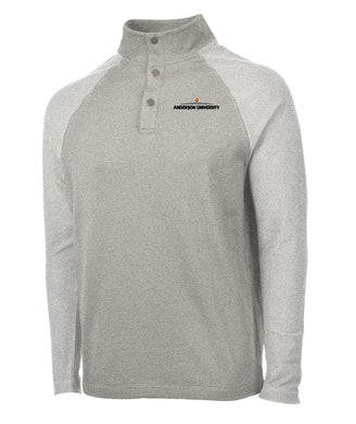 Charles River Falmouth Pullover, Heather Grey
