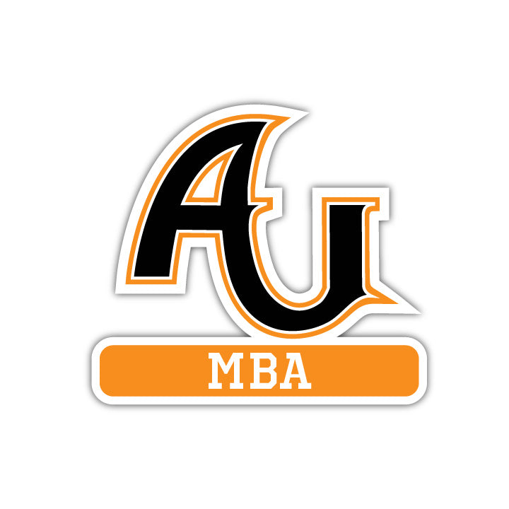 AU MBA Decal - M Series