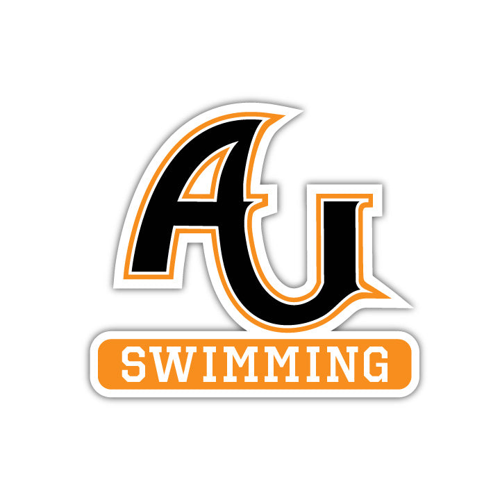 AU Swimming Decal