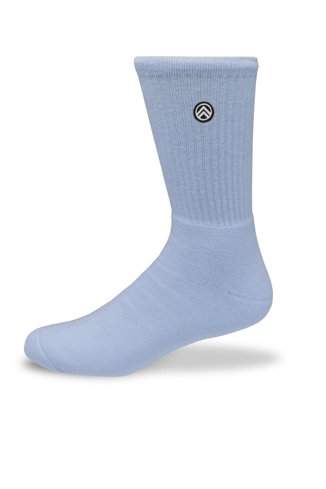 Sky Footwear Socks, Solid Blue