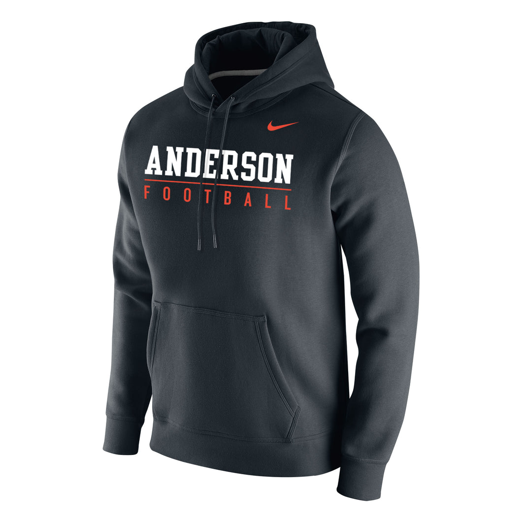 Nike Men's Football Club Fleece Hoodie, Black