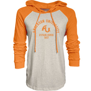 Blue 84 Ashton Raglan Hoodie, Oatmeal/Orange