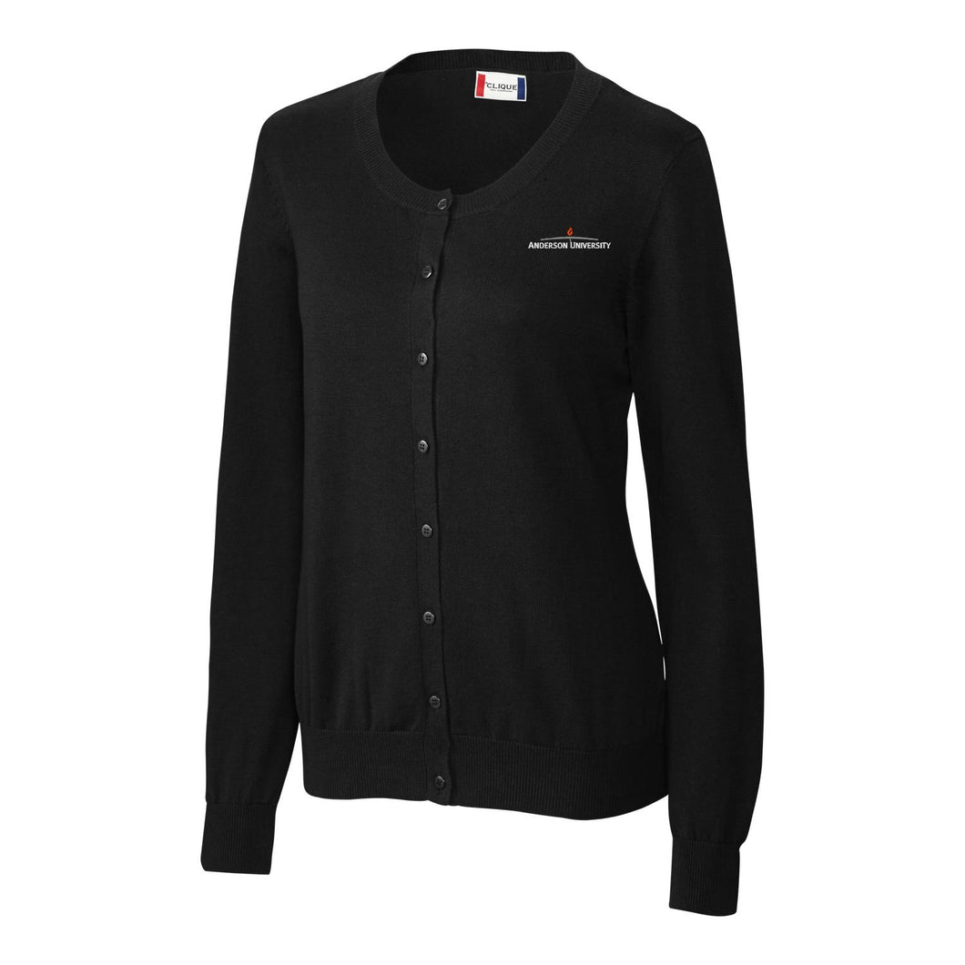 Cutter & Buck Women's Imatra Cardigan, Black