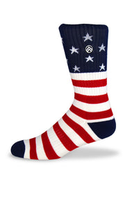 Sky Footwear Socks, Merica'