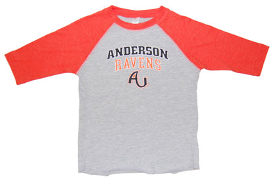 Little King Toddler/Kids Baseball Tee, Oxford/Orange