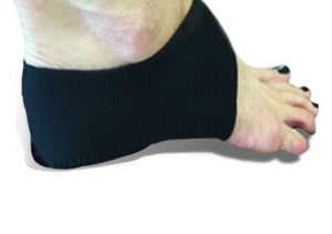 Heel wrap for plantar fasciitis day treatment at home.