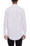 Men's Long Sleeve Dress Shirts White - Indoor Angels