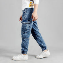 Children Boys Fashion Casual Denim Trouser Pants