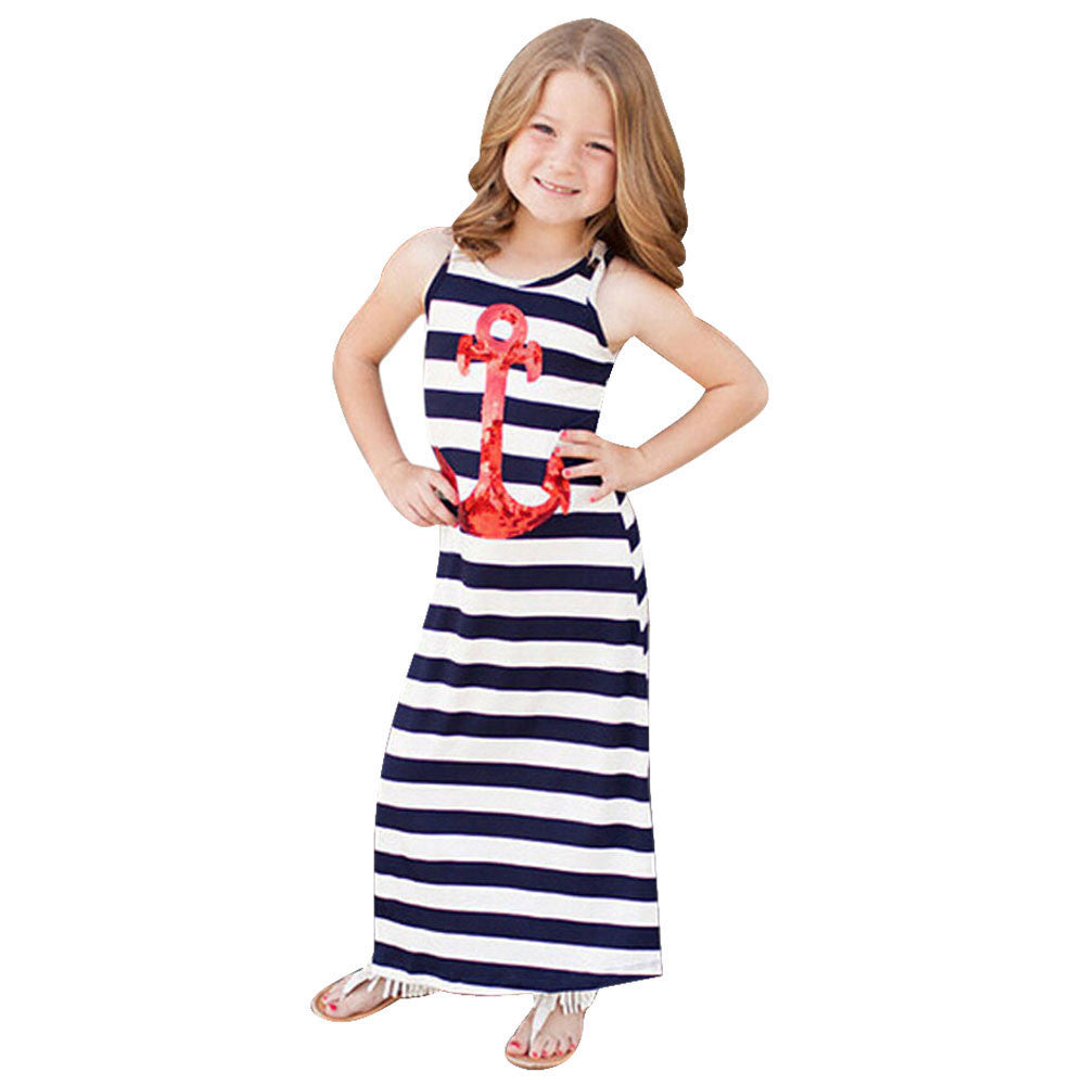 Girls Fashion Anchor Dress - Indoor Angels