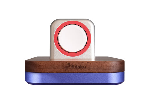 BLIGHTY DOCK FOR APPLE WATCH - ROYAL BLUE & WALNUT