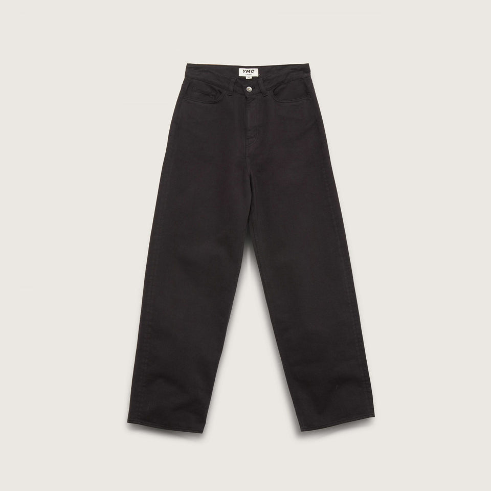 PAPA ORGANIC COTTON TWILL JEANS BLACK