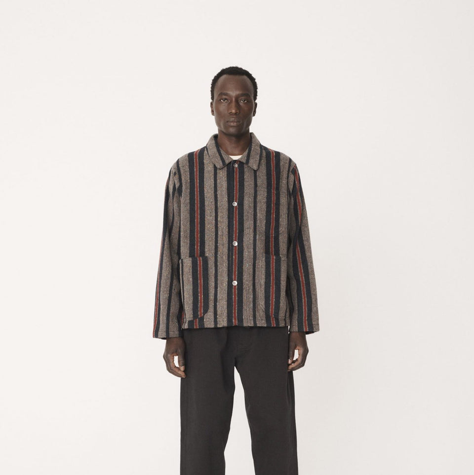CUBIST WOOL STRIPE JACKET MULTI