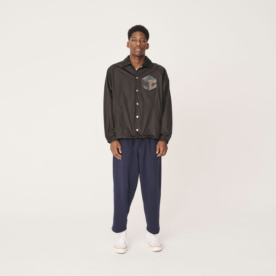 YMC x PREF - JOCKS RIPSTOP POLY JACKET 95 BLACK