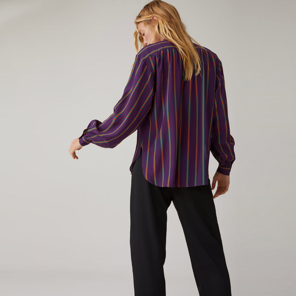 Viscose & Silk Shirt Blouse