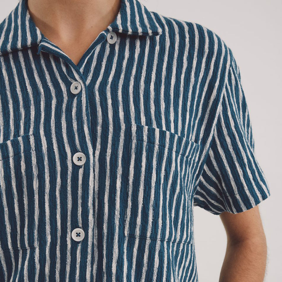 Vegas S/S Shirt Blue