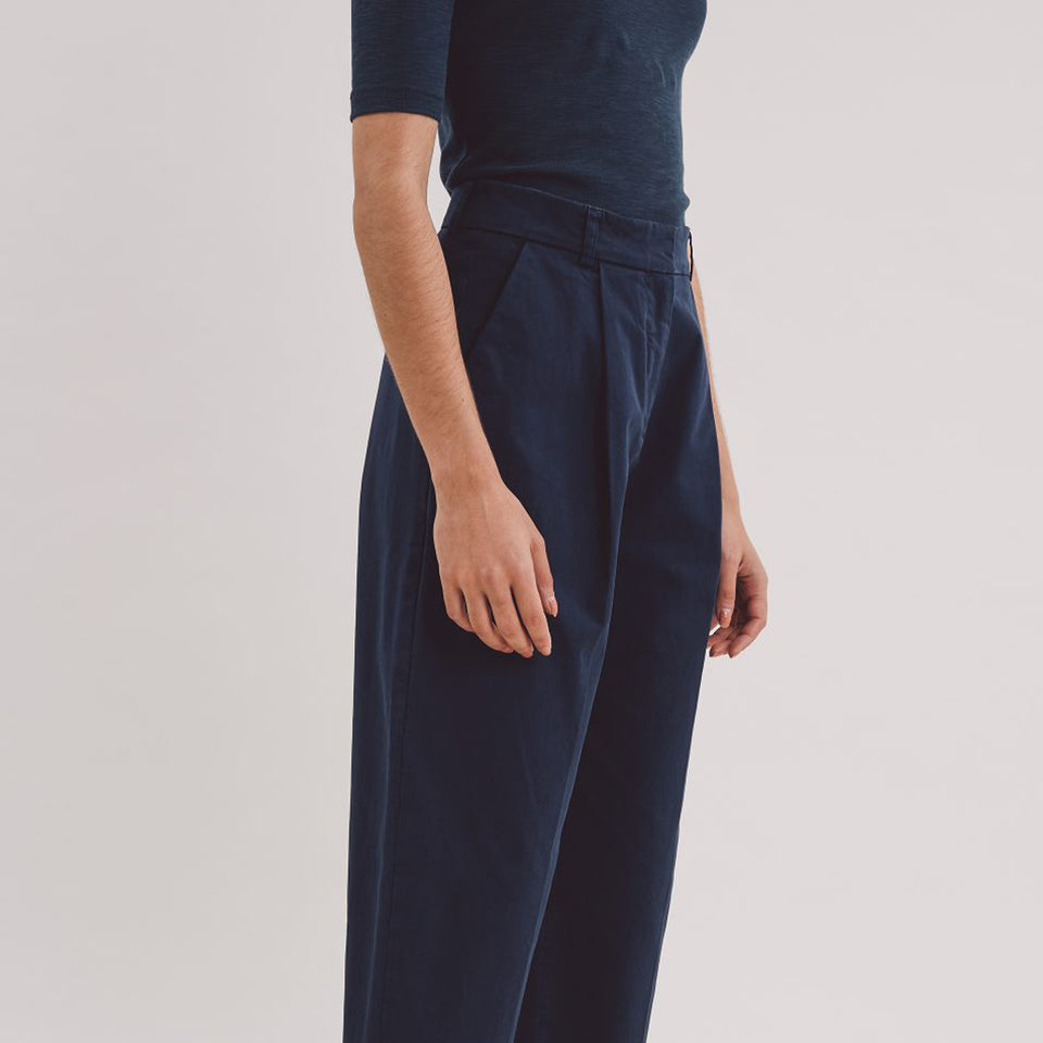 Market Trouser Navy