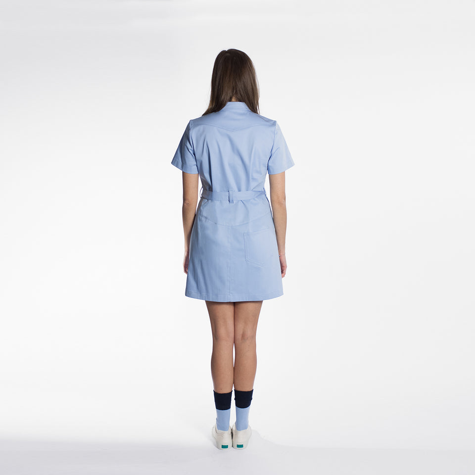 Short Dress Azzurro