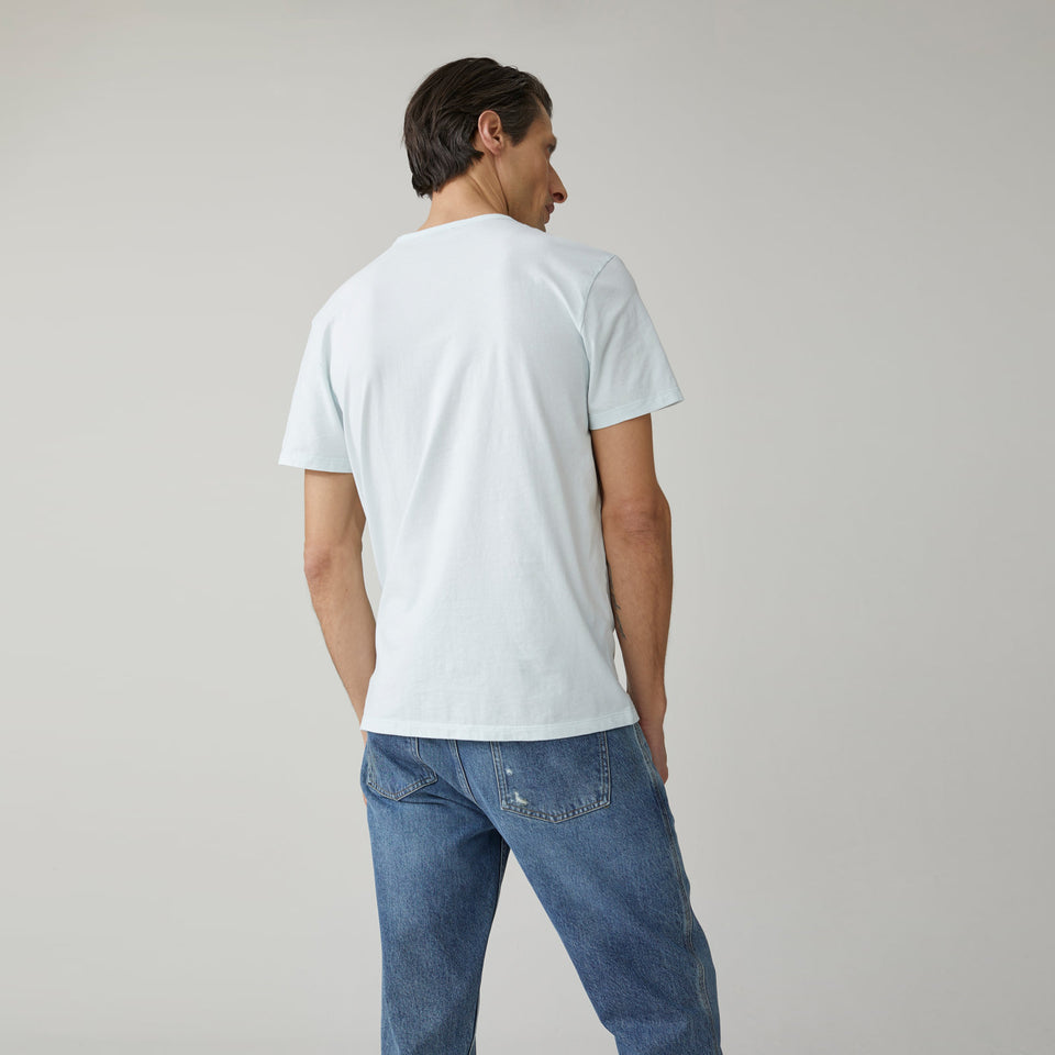 Organic Cotton T-Shirt with Chest Pocket