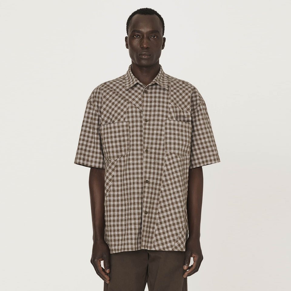 Mitchum Patchwork Check Shirt