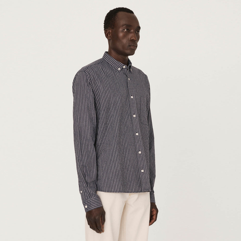 Dean Cotton Linen Shirt