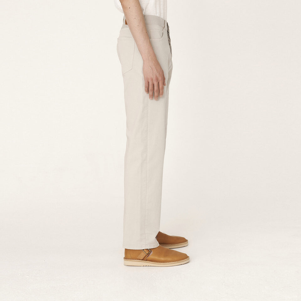 Papa Cotton Twill Jeans Stone