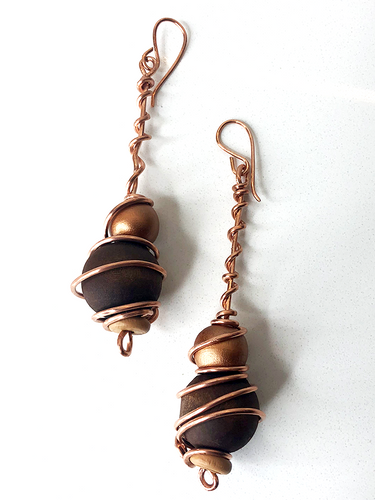 Etsi-Goe (Water Gore) Earrings