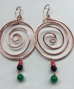 Dzodzome (The Origin) Earrings