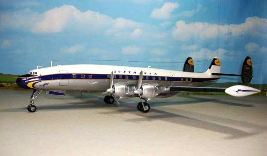 LUFTHANSA LOCKHEED L-049 CONSTELLATION
