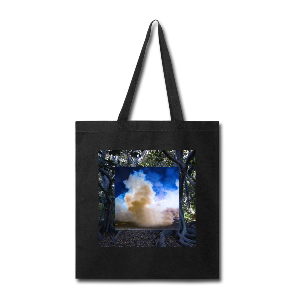 Terrorscape 2 (Banyan Blue) Tote - black