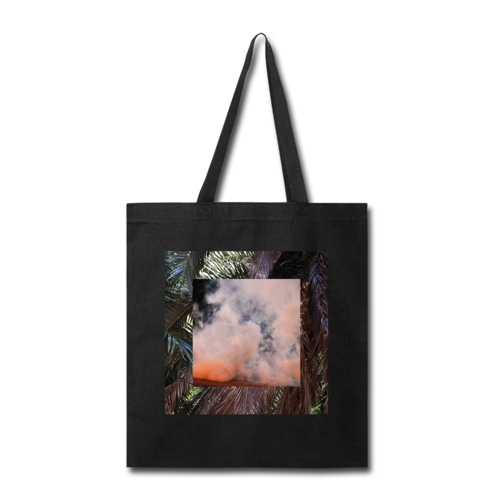 Terrorscape 3 (Palm Orange) Tote - black