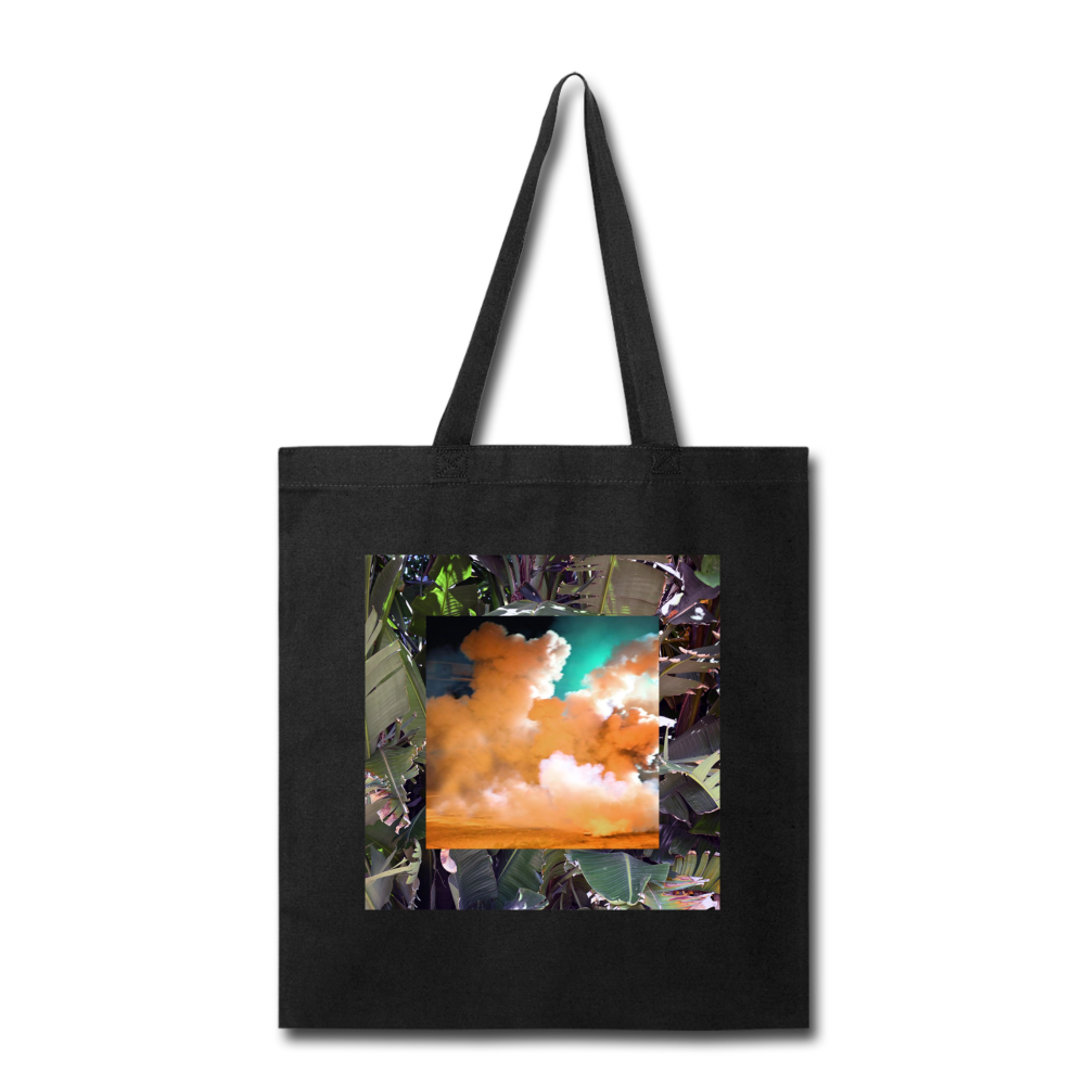 Terrorscape 1 (Jungle Orange Green) Tote - black