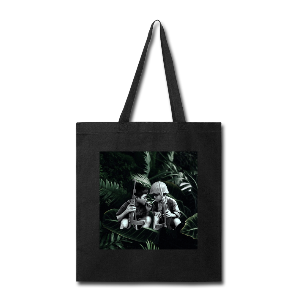 Child Soldiers 1 Tote - black