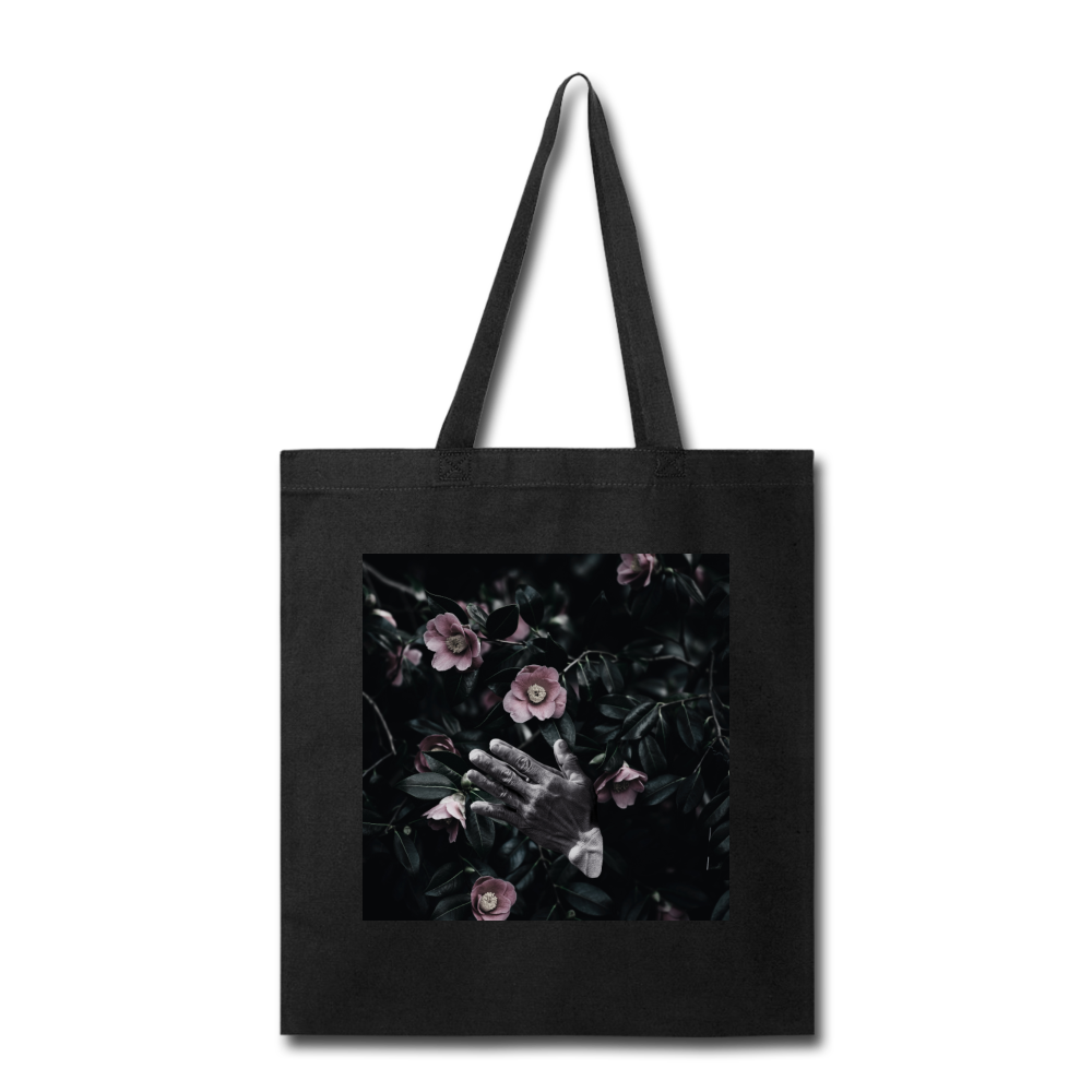 Praying Hands Tote - black