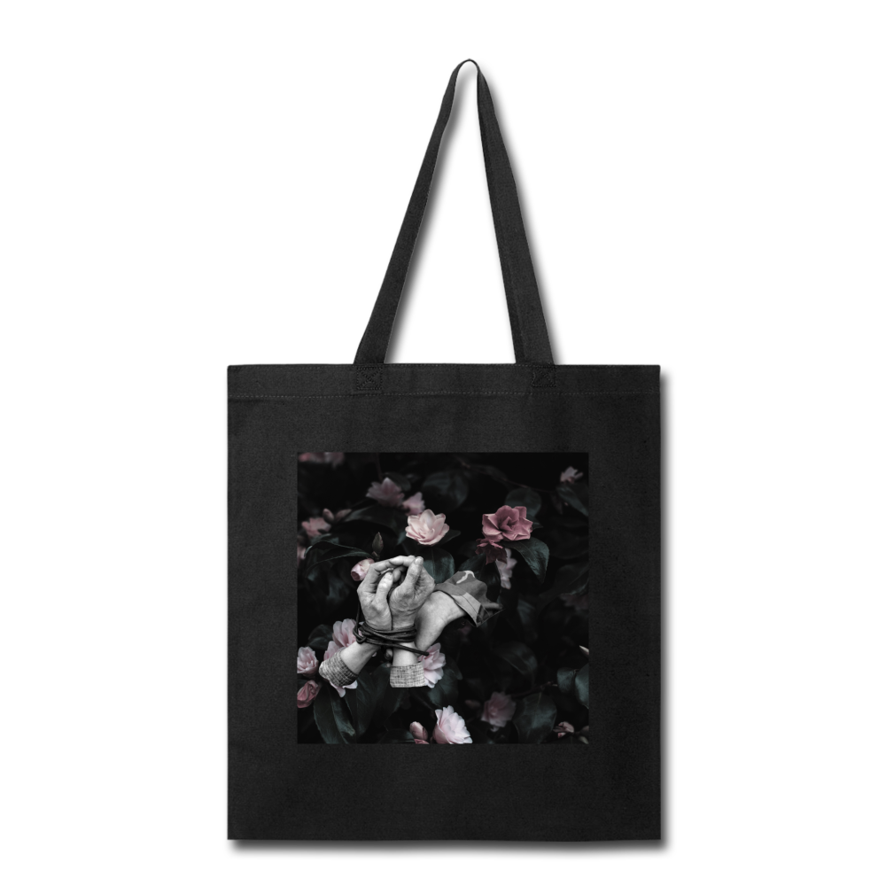 Hands Tied Tote - black