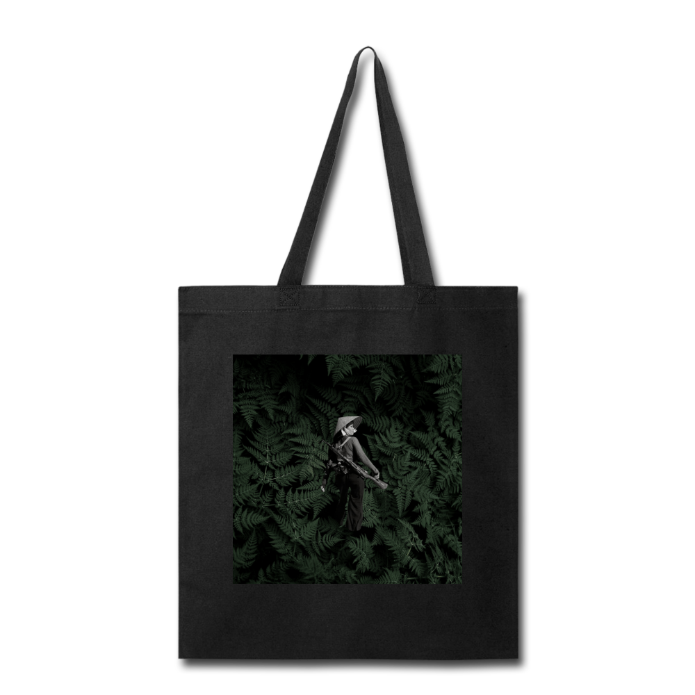 Woman Soldier 2 Tote - black