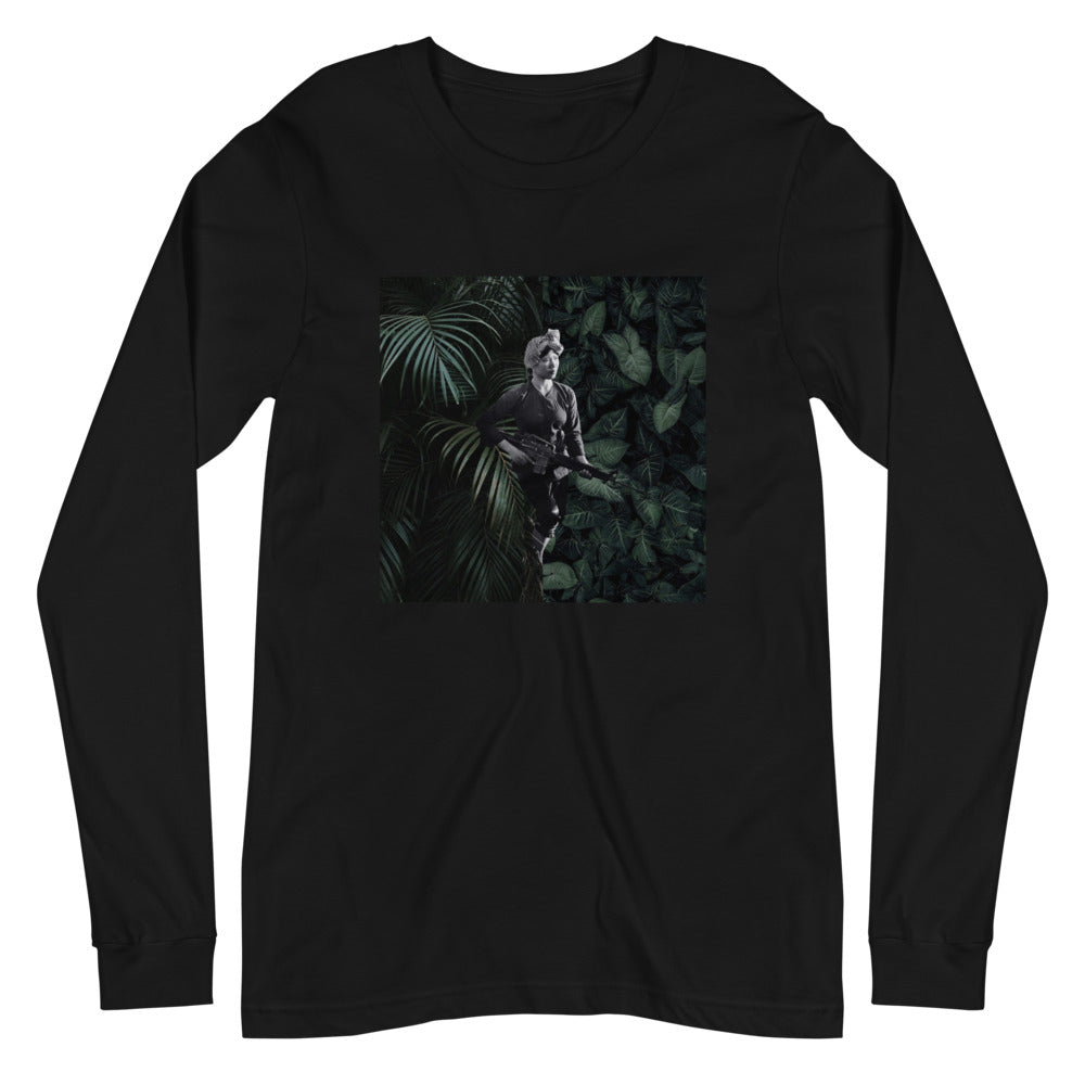 Woman Soldier 1 - Long Sleeve Tee (Unisex)