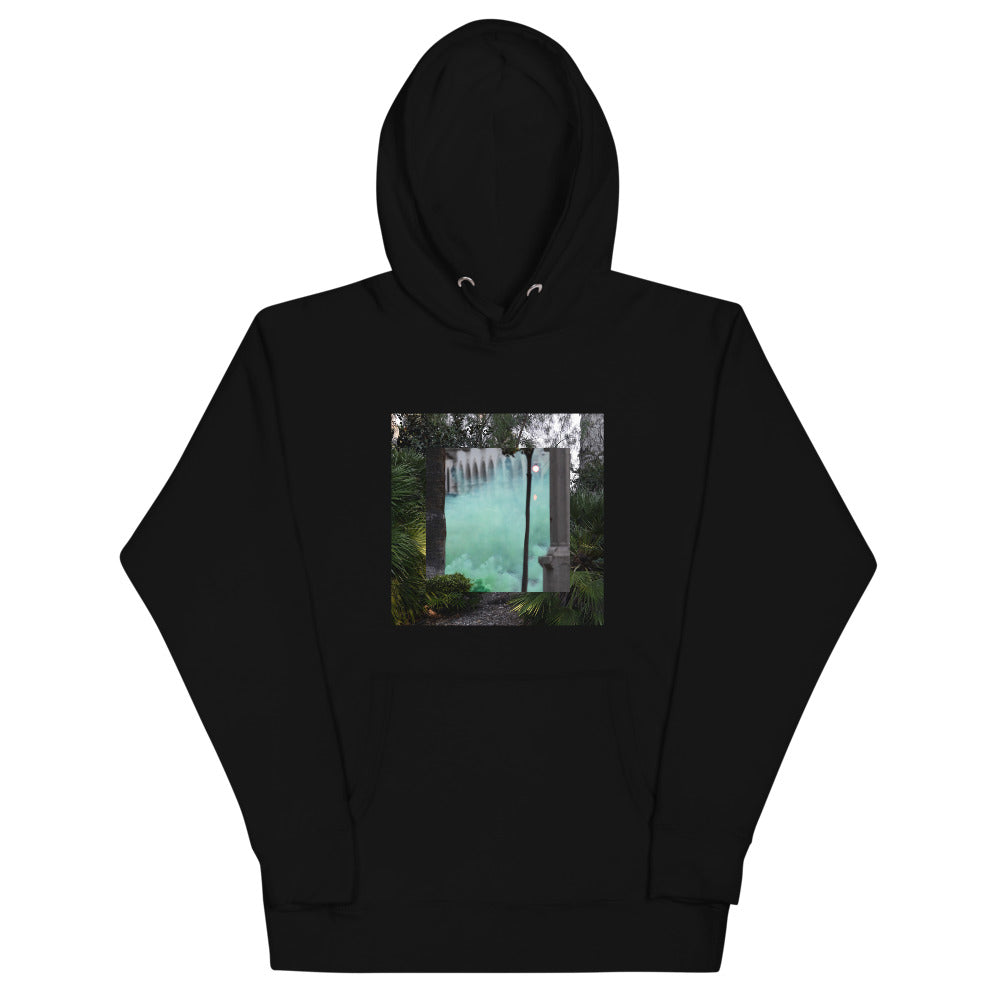 Terrorscape 6 (Green Monster) Pull Over Hoodie UNISEX