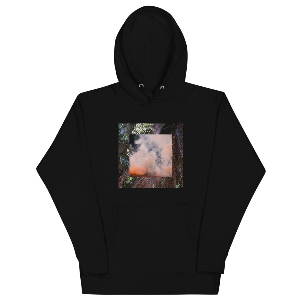 Terrorscape 3 (Palm Orange) Pull Over Hoodie UNISEX