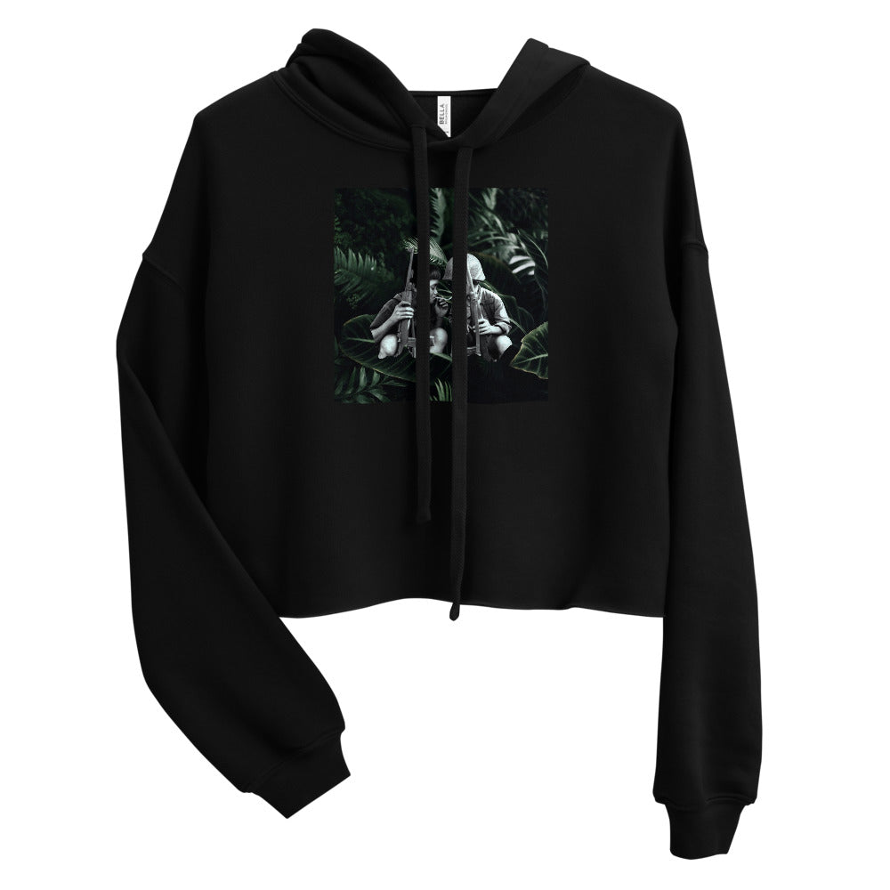Child Soldiers 1 Cropped Hoodie
