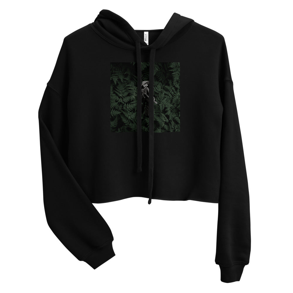 Woman Soldier 2 Cropped Hoodie