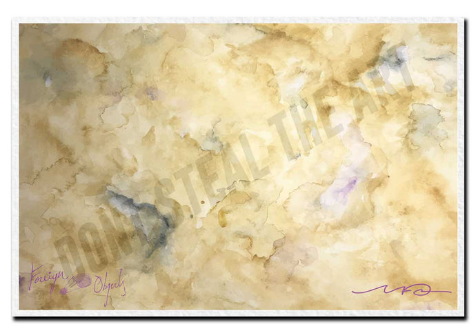 In The Gold Dust Rush Art Print