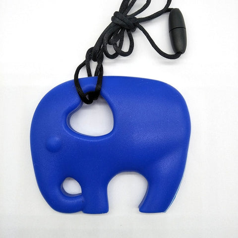 Elephant Chewable Necklace - Branch & Leaf
