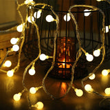 Bulb String Lights - Branch & Leaf