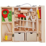 Wooden Montessori Tool Box - Branch & Leaf