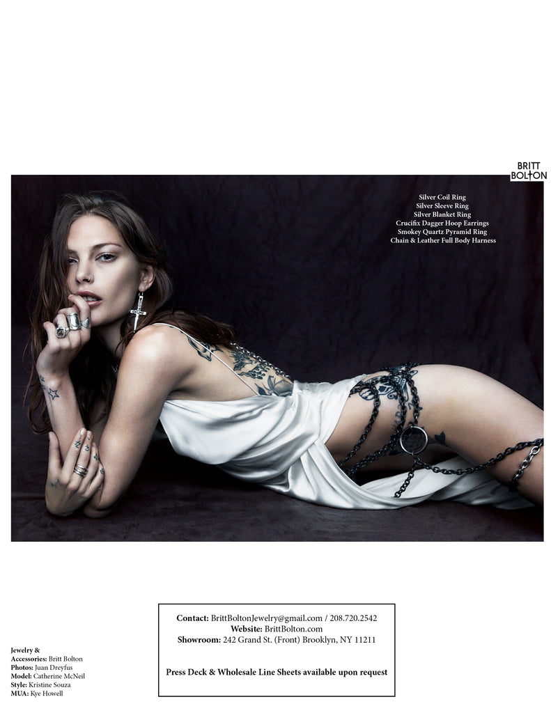 Catherine Mcneil x Britt Bolton Jewelry Look book page 8