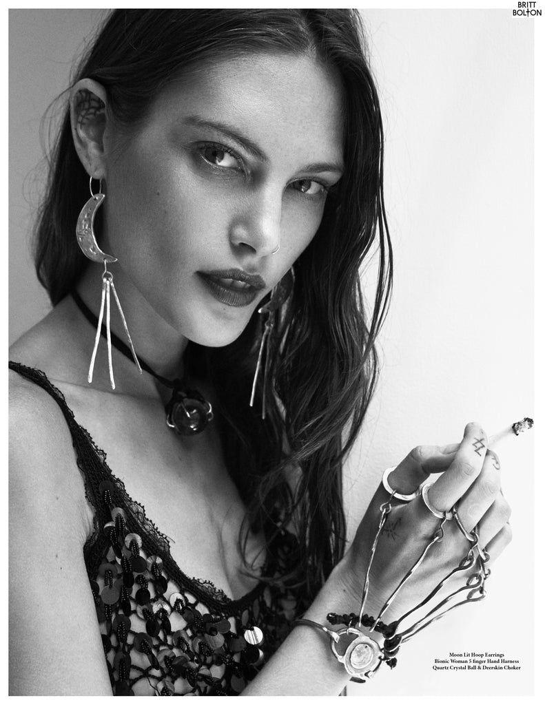 Catherine Mcneil x Britt Bolton Jewelry Look book page 6